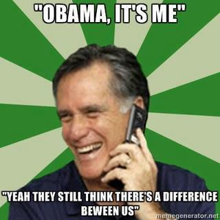 obama romney still think there s a difference