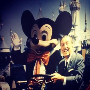 Walt and Mickey