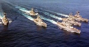 war ships