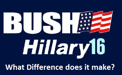 Bush Clinton 2016 what difference does it make